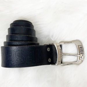 Diesel leather belt size L